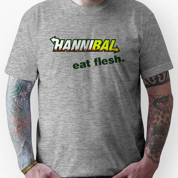 "Hannibal ""Eat Flesh"" Unisex T-Shirt"