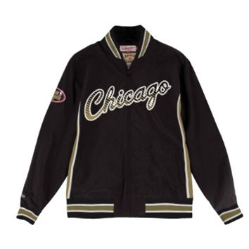 Mitchell & Ness Team History Warm Up Jacket Chicago Bulls