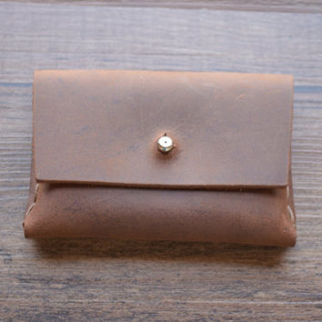 Coin Purse Wallet & Personalized , Custom Engraved - Card Holder