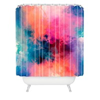 Caleb Troy Temperature Shower Curtain