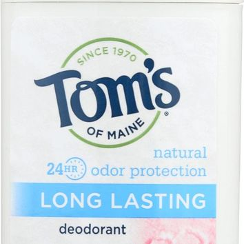 Tom's Of Maine Deodorant - Long Lasting - Stick - Natural Powder - 2.25 Oz - Case Of 6