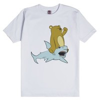 How Awesome is it when Animals Ride Other Animals?-White T-Shirt