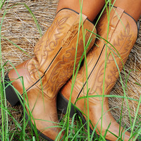 Ride With You Boots: Tan | Hope's