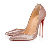 So Kate 120 Nude Paillette - Women Shoes - Christian Louboutin