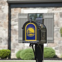 Golden State Warriors 8x5 Fan Logo Mailbox Decal