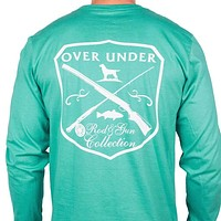Rod & Gun Collection Long Sleeve Tee in Teal by Over Under Clothing