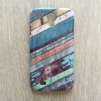 Wood vintage colorful wood iphone 6 case / iphone 6 plus case / Samsung galaxy S6 case / galaxy S5 case / iphone 4 5 5S 5C, S4 note 3 note 4