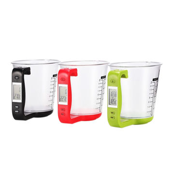 New Arrival LCD Kitchen Digital Scale Measuring Cup 1000g Capacity Coffee Tea Weighing