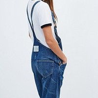 Levis Vintage Clothing Bib and Brace Denim Dungarees in Blue - Urban Outfitters