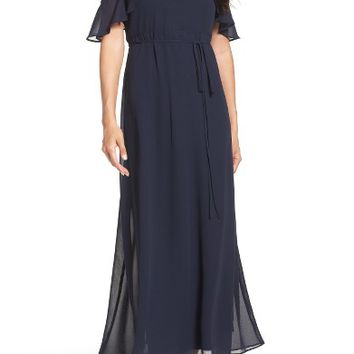 Gabby Skye Cold Shoulder Maxi Dress | Nordstrom