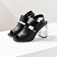 Buckled Lucite Heel | Urban Outfitters