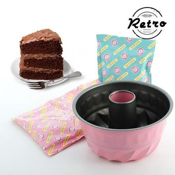 Retro Chocolate Bundt Cake Baking Kit