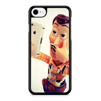 Disneyland Toy Story Woody Selfie 2 Iphone 8 Case