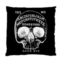 Ouija Skull pillow case 2 sided