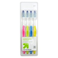 up & up™ Deep Clean Toothbrush - 4 count
