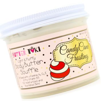 CANDY CANE FROSTING Body Butter Soufflé Holiday Collection 2018