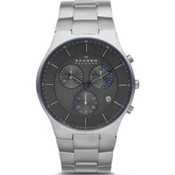 Skagen Balder Mens Chronograph Quartz Watch SKW6077
