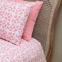 Safari Pink Single And Cot Duvet Cover Set