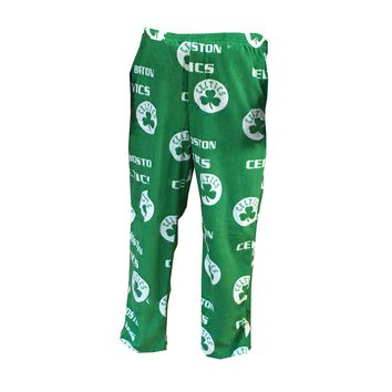 "Boston Celtics NBA ""Facade"" Men's Micro Fleece Pajama Pants"