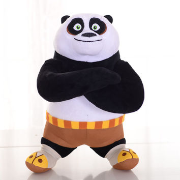 "1pcs 8"" 20cm kung fu Panda Plush Toys Kungfu Cute Collectible Soft Stuffed Anime Doll Baby Kids Toy Selling Doll"