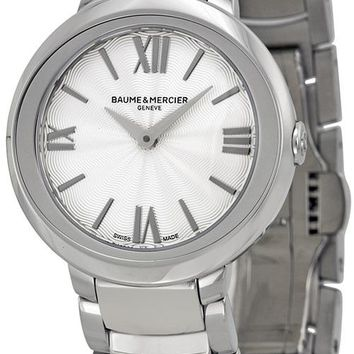 Baume and Mercier Promesse Stainless Steel Watch MOA10157