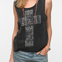 Urban Outfitters - Mont La Roc Cross Muscle Tee