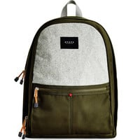 The Nevins Olive Backpack