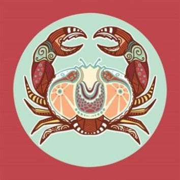 CANCER ASTROLOGY art poster 24X36 CLASSIC BOLD the crab symbolic ZODIAC hot