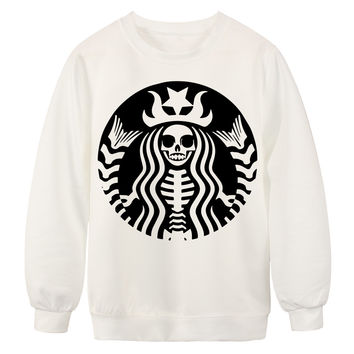 Trendy Digital Printing Long Sleeve Tee Unisex Sweatshirt On Sale
