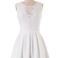 All Good Things Dress - White