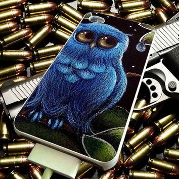 Blue Owl for iPhone, iPod, Samsung Galaxy, HTC One, Nexus ***