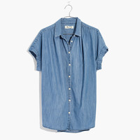 Central Shirt in Roberta Indigo : shopmadewell more denim dressing | Madewell