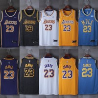 2018-2019 LeBron James #23 Los Angeles Lakers Jerseys - Best Deal Online