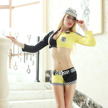 Cute On Sale Sexy Hot Deal Games Uniform Set Cosplay Costume Exotic Lingerie [6580693319]