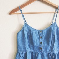 Cheryl Denim Sundress
