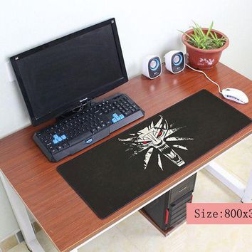 witcher mouse pad 800x300mm pad to mouse notbook computer mousepad Gorgeous gaming padmouse gamer to large keyboard mouse mats