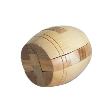 New Hot 3D Wooden Puzzle Brainteaser Beer Barrel Lock Jigsaw Wood Fancy Christmas Gift Toy Children Puzzles Toy