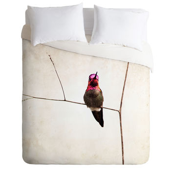 Bree Madden Little Hummingbird Duvet Cover