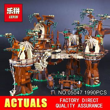 Star Wars Force Episode 1 2 3 4 5 Lepin 05047 990pcs  Model Village Building Blocks Juguete para Construir Bricks for Children Christmas Gift Toy 10236  AT_72_6