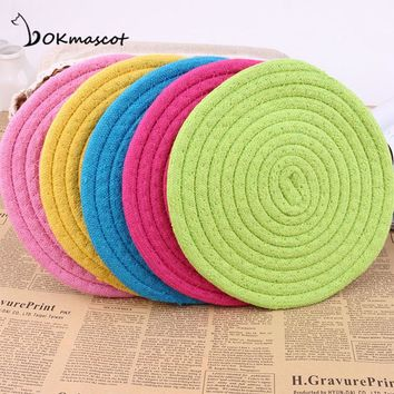 Vokmascot Cotton Rope Pet Toys Useful Molar Dog Toys Clean Teeth Rope Pet Toy Flying discs For Teath