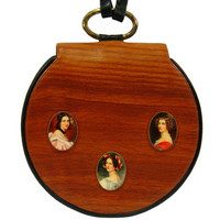 Renaud Pellegrino Handbag, French Portrait Miniatures, Made in France, Rare, Collectible, Luxurious, 1980s