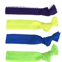 Glam Bands Bright Hair Ties