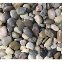 MS International, Mixed Polished Pebbles Small - 40 lb. Bag, LPEBMMIX3POL40 at The Home Depot - Tablet