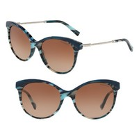 Tiffany & Co. Diamond Point 55mm Gradient Cat Eye Sunglasses | Nordstrom