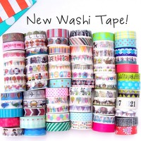 136 All New Washi Tape Designs!
