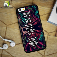 A Day To Remember Have Faith In Me iPhone 6 Plus Case by Avallen
