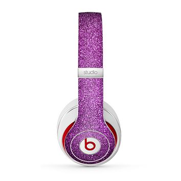 The Purple Glitter Ultra Metallic Skin for the Beats by Dre Studio (2013+ Version) Headphones