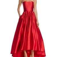 Avery G Strapless Gown | Bloomingdales's