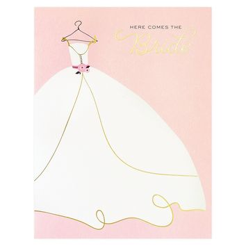 Wedding Gown Greeting Card