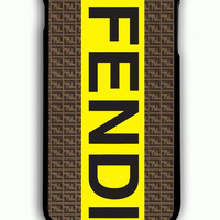 iPhone 6 Plus Case - Rubber (TPU) Cover with fendi logo Rubber Case Design